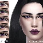 Моды стрелки для глаз для Симс 4