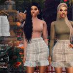 Моды юбки Симс 4