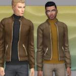 Мужские куртки Симс 4