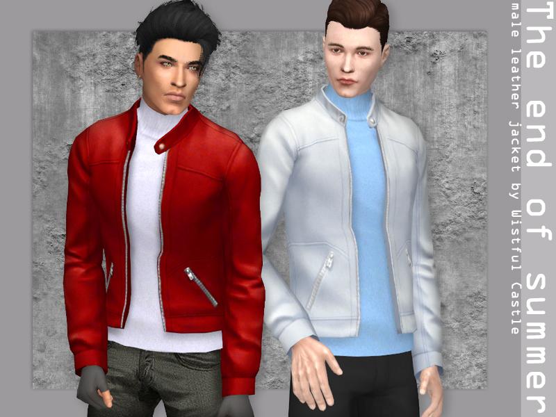 Мужские куртки Симс 4 (картинка 3)