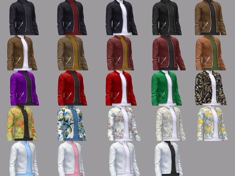 Мужские куртки Симс 4 (картинка 4)