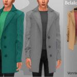 Мужское пальто Симс 4