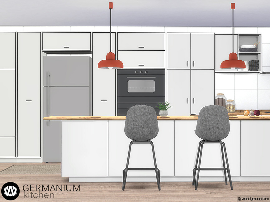 Наборы кухни Симс 4 (картинка 2)
