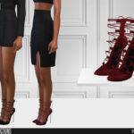Обувь для женщин для Симс 4