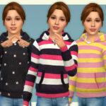 Одежда для детей девочек Симс 4