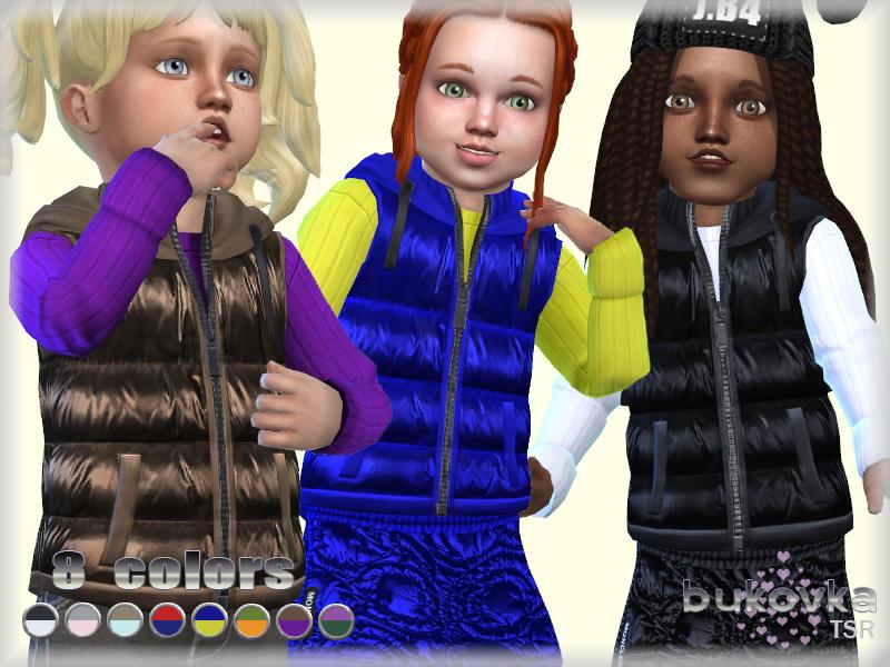 Одежда для детей Симс 4