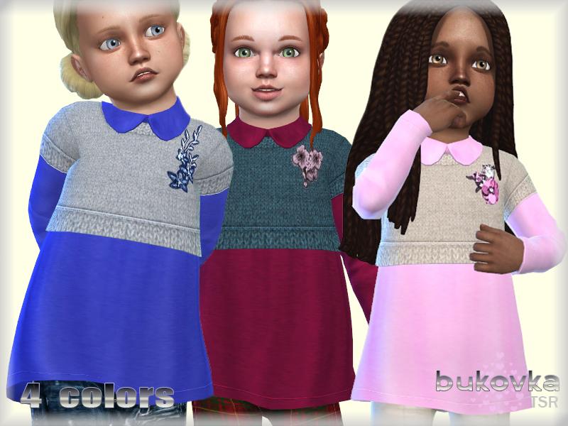 Одежда для девочек Симс 4