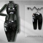 Одежда для девушек Симс 4