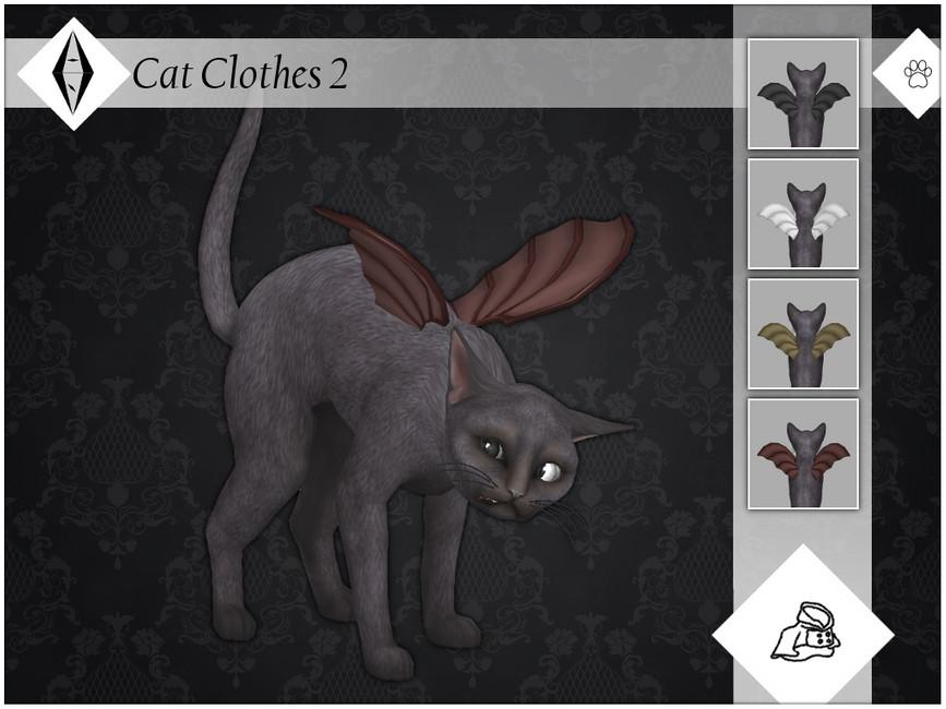 Одежда для кошек Симс 4
