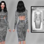 Одежда платья Симс 4