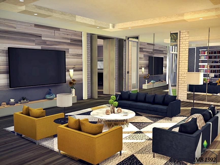 Отель Симс 4 (картинка 5)