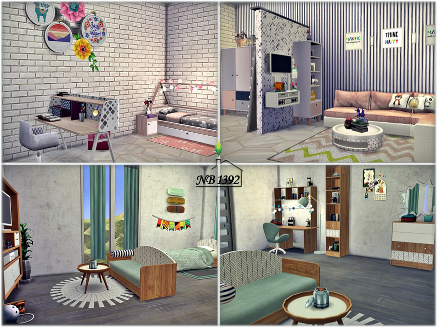 Отель Симс 4 (картинка 8)