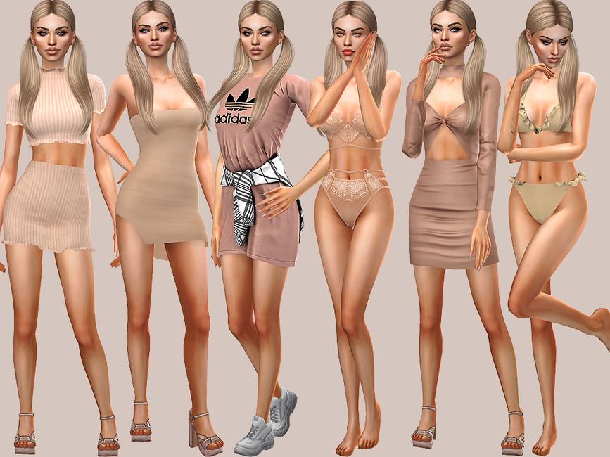 Персонажи девушки Симс 4 (картинка 2)
