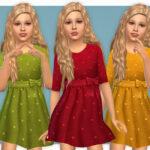 Платье для девушек для Симс 4