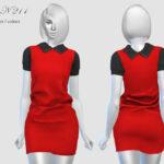 Платье Dress N211 для Симс 4