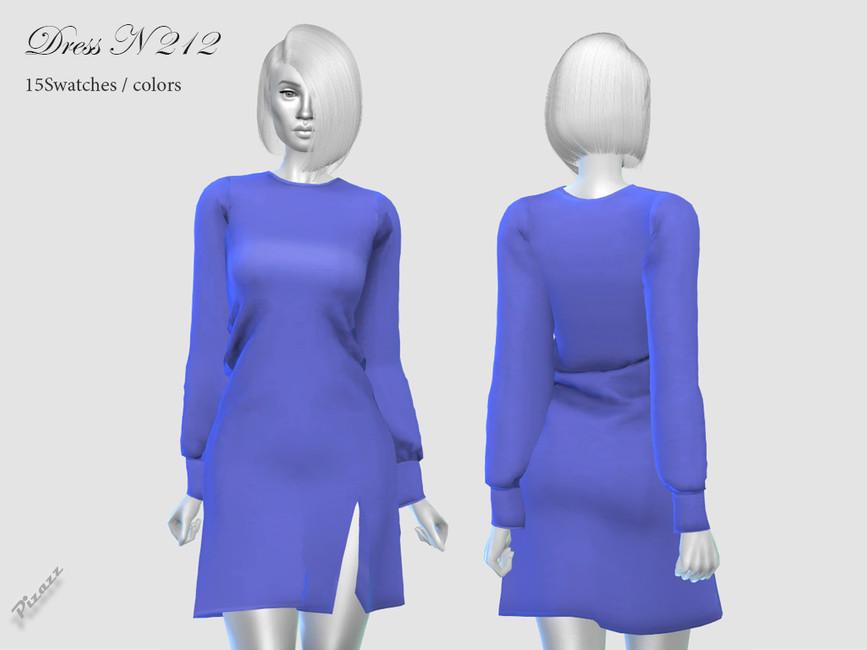 Платье Dress N212 для Симс 4