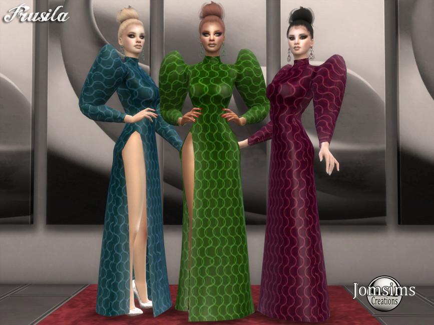 Платье Frusila для Симс 4