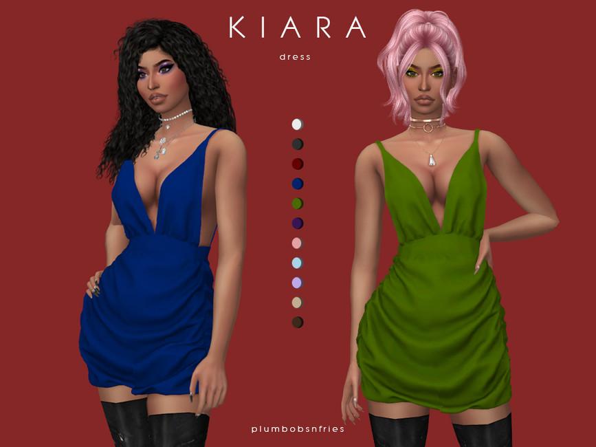 Платье KIARA для Симс 4