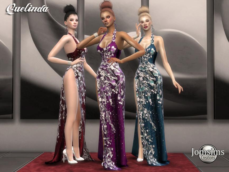 Платье Quelinda для Симс 4