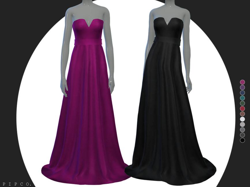 Платья принцесс Симс 4