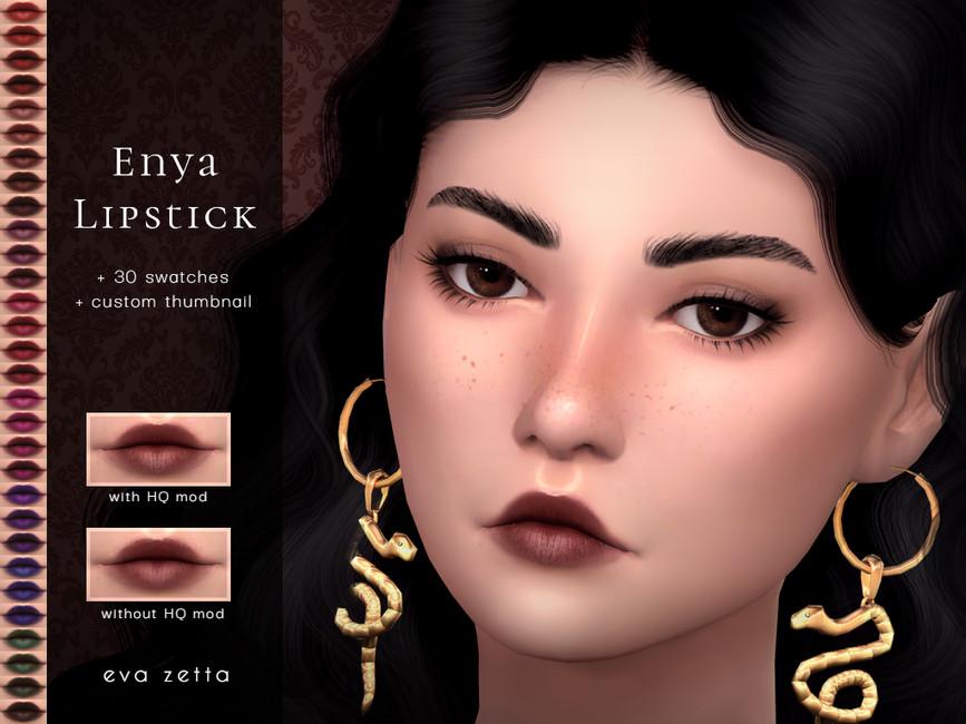 Помада Enya Lipstick Симс 4