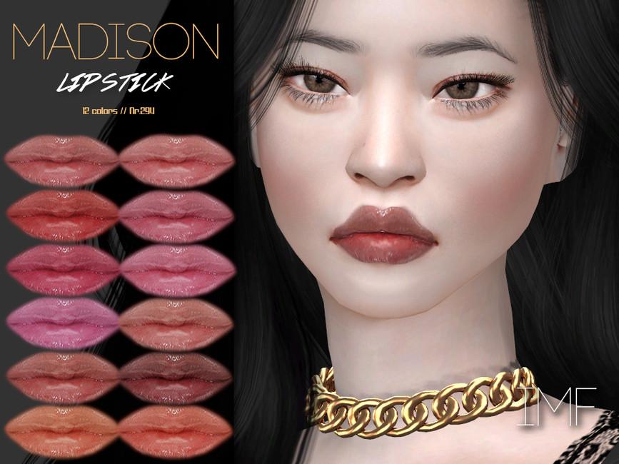 Помада Madison Lipstick N294 Симс 4
