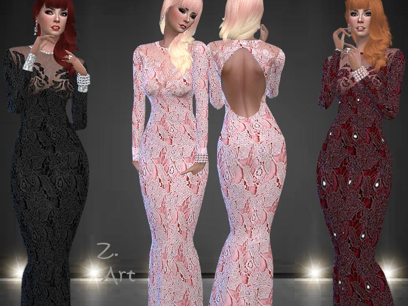 Шикарные платья Симс 4