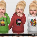 Скачать детскую одежду для Симс 4