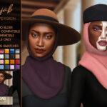 Скачать хиджаб для Симс 4