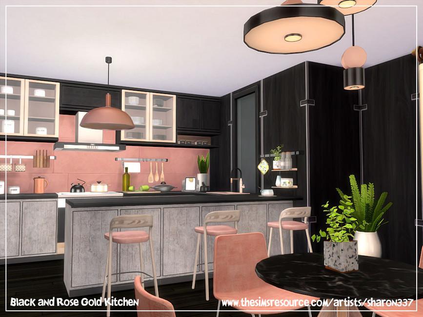 Скачать кухню для Симс 4 (картинка 2)