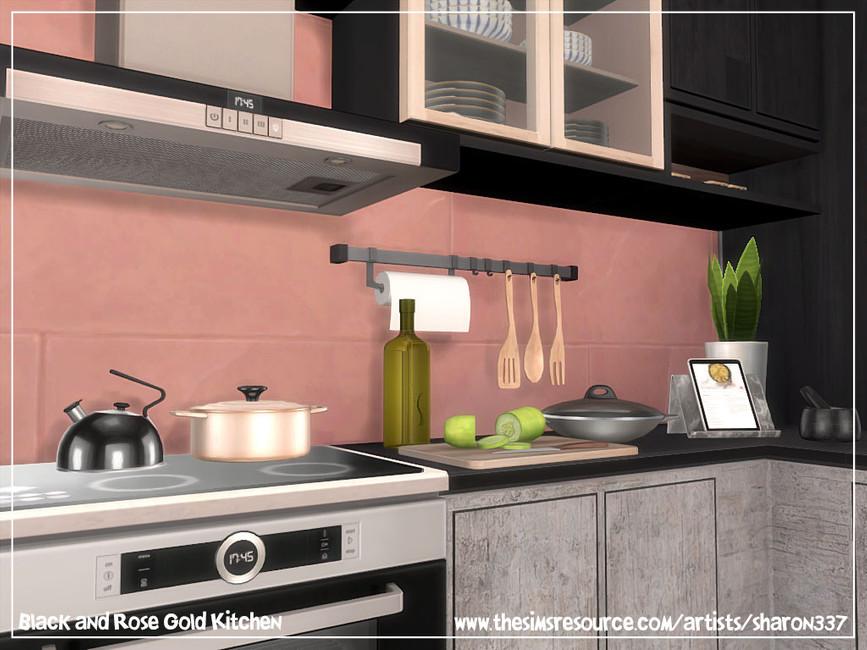 Скачать кухню для Симс 4 (картинка 4)