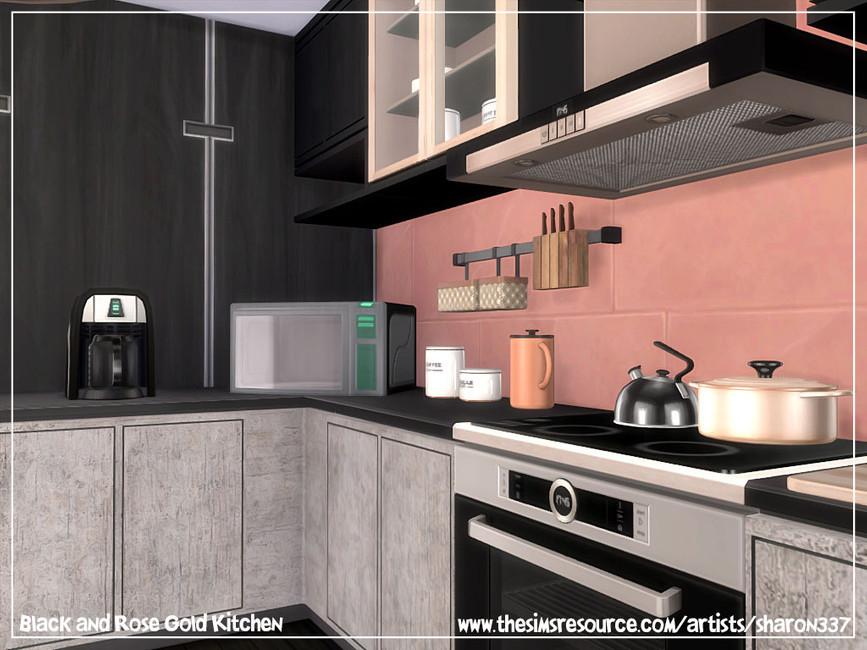 Скачать кухню для Симс 4 (картинка 5)