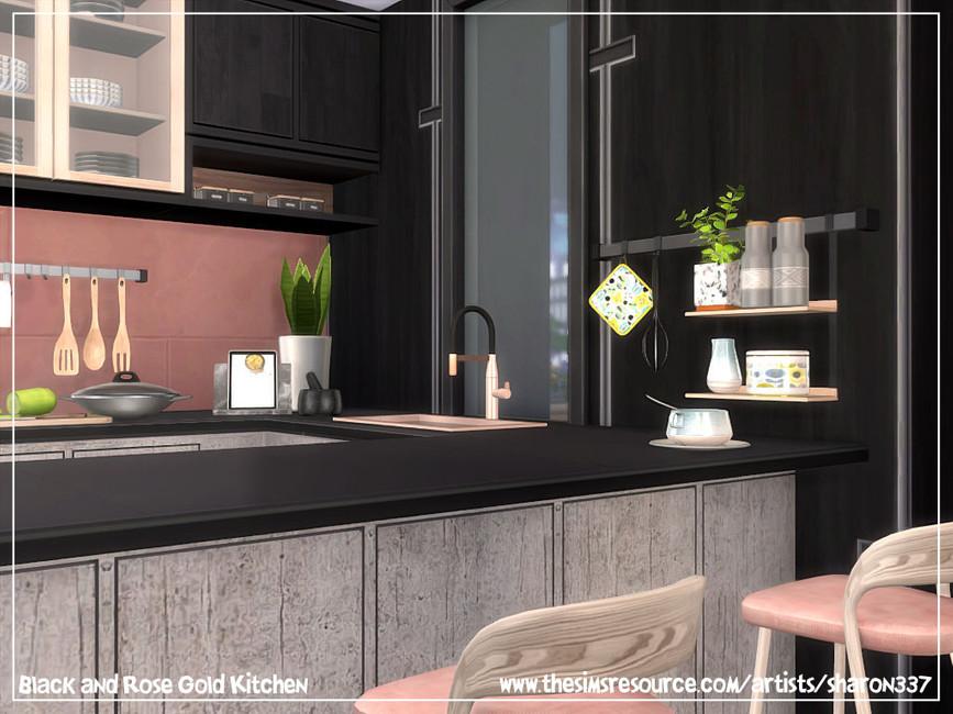 Скачать кухню для Симс 4 (картинка 6)