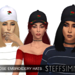 Скачать мод шапки Симс 4