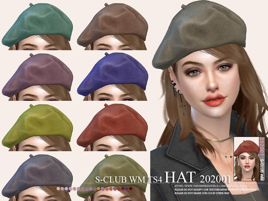 Скачать шляпа Симс 4