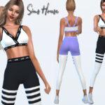 Скачать спортивную одежду Симс 4