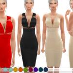 Скачать женские платья для Симс 4