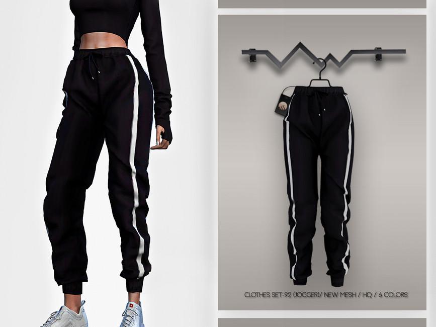 Спортивные штаны для девушек Симс 4