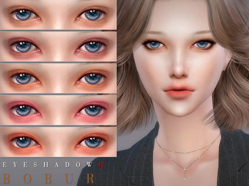 Тени для век Bobur Eyeshadow 47 Симс 4