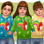 Толстовка для детей Симс 4