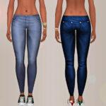 Женская одежда джинсы Симс 4