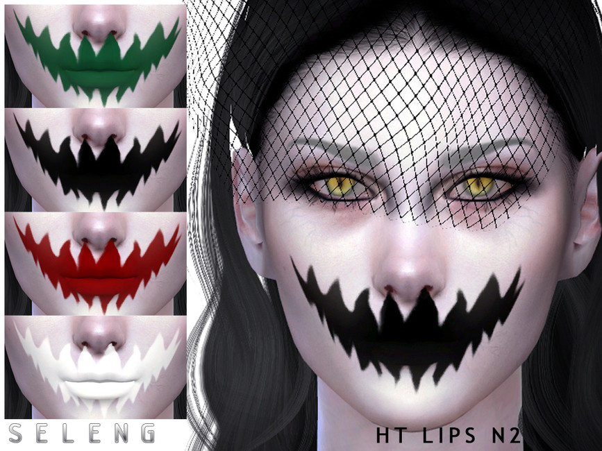 Женские губы для Симс 4