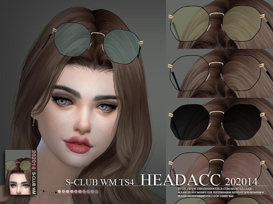 Аксессуары очки Симс 4