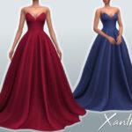 Бальные платья для Симс 4