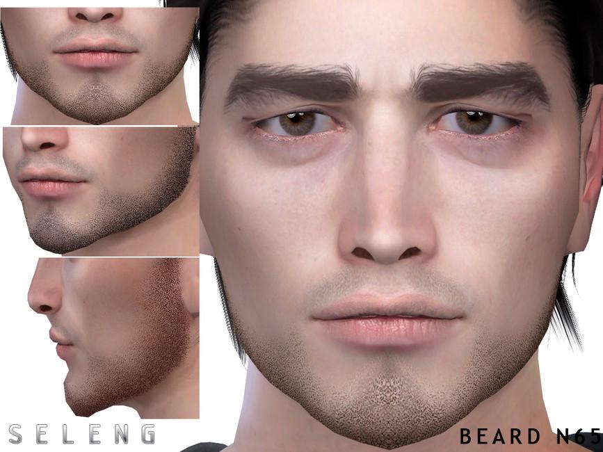 Борода Beard N65 Симс 4