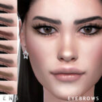 Брови Eyebrows N93 для Симс 4