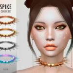 Чокер Spike Choker для Симс 4