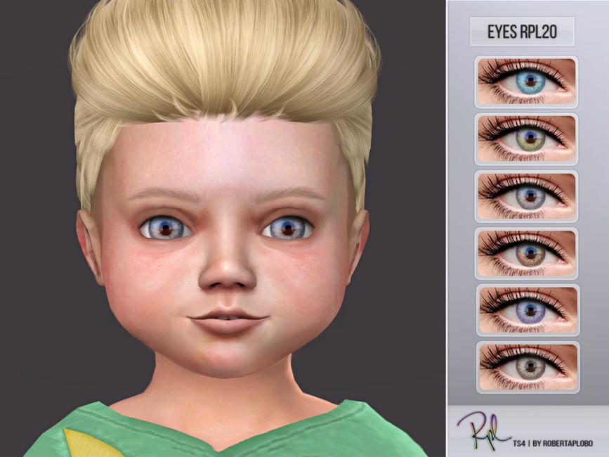 Глаза для детей Симс 4