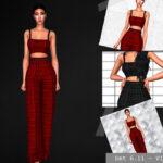 Комплект одежды для Симс 4