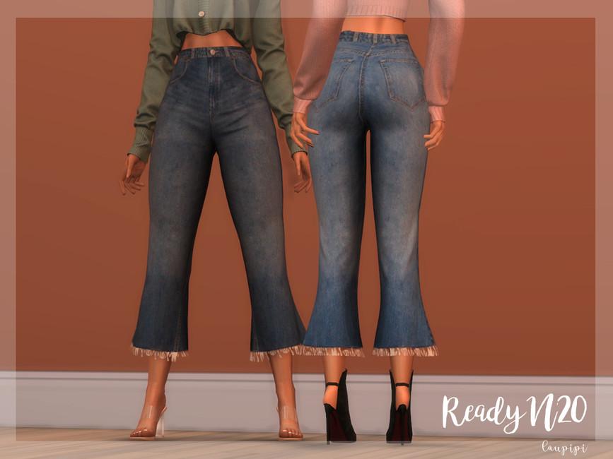 Мод джинсы для Симс 4